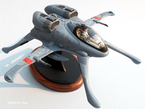 Starship modeler the skimmer