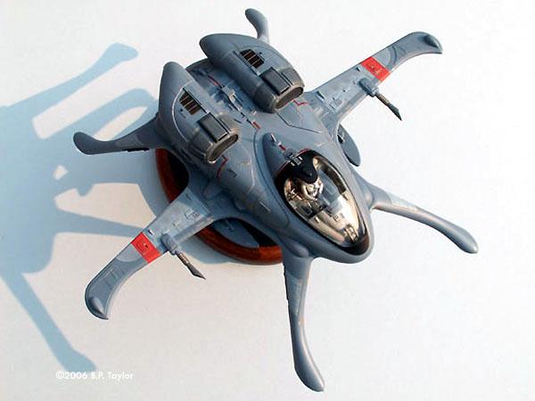 Starship modeler the skimmer