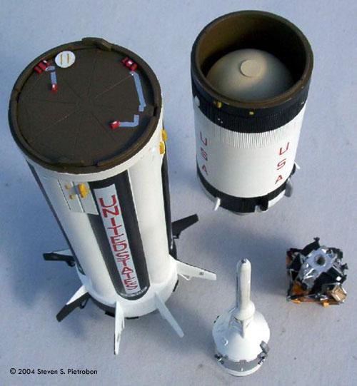 Starship Modeler Airfix 1 144 Saturn Ib