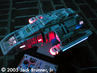 Starship Modeler Ds9 Runabout With Interior Amp Lighting