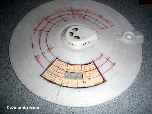 Starship Modeler Va Miniatures S 1 537 Saucer Mounted